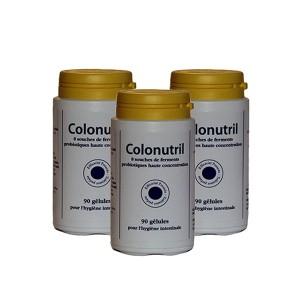 COLONUTRIL 10 souches Probiotiques - Lot de 3 flacons